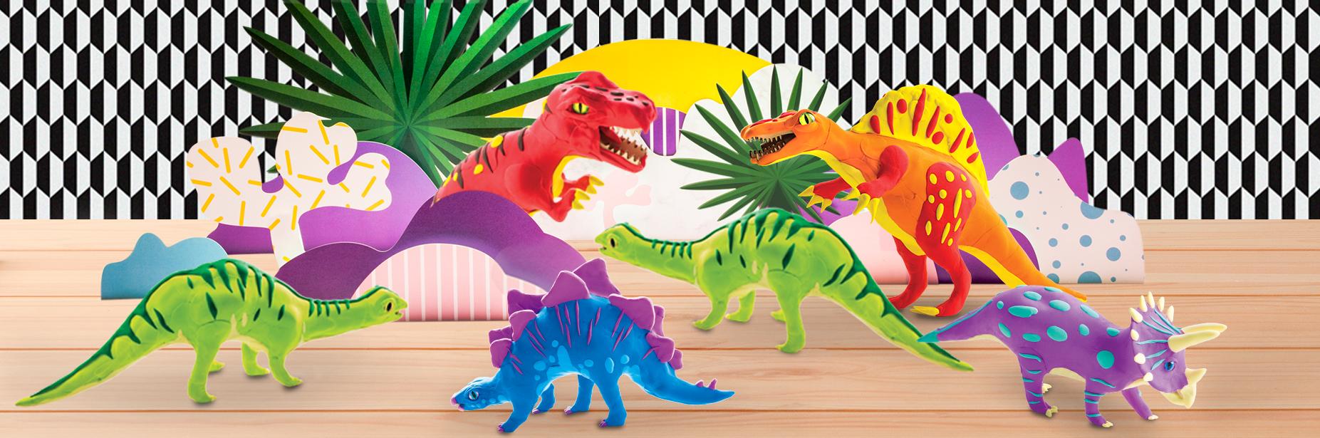 恐龙粘土合集